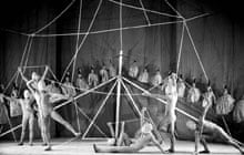 A still from a production by Diaghilev's Ballets Russes