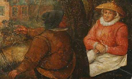 Unknown painting by Pieter Brueghel the younger