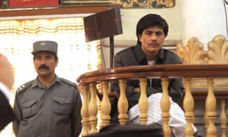 Afghan journalist