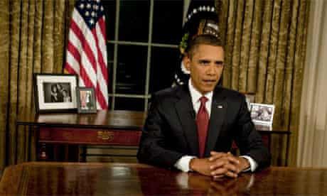 President Barack Obama, TV speech on Iraq