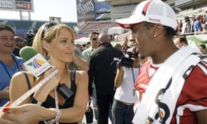 Ines Sainz, TV sports reporter