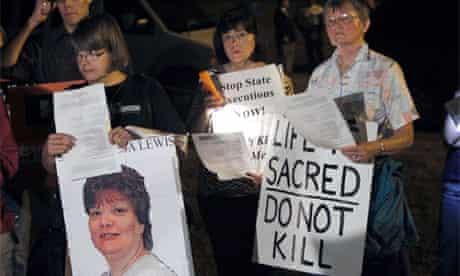 Teresa Lewis execution 2010 Virginia