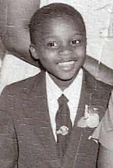 Lloyd Marcus as a child