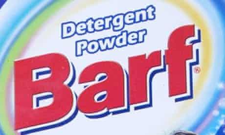 Barf detergent