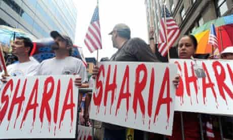 Ground Zero Mosque protest, New York, 2010