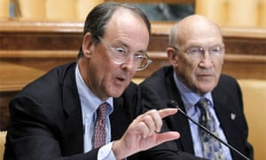 Erskine Bowles Alan Simpson chairs of deficit commission