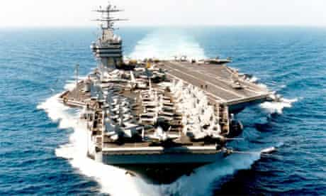 USS George Washington aircraft carrier