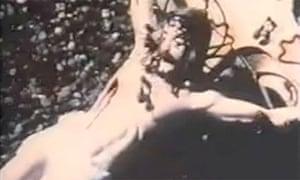 Screengrab from David Wojnarowicz, 'A Fire in My Belly', Smithsonian Institute