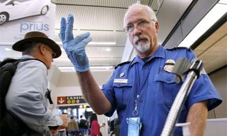 TSA airport security check 2010