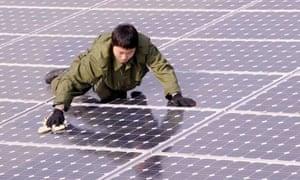 China renewable energy solar