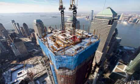 Construction World Trade Centre, New York, 2011