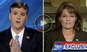Sarah Palin appears on Sean Hannity's FoxNews show, 18 January 2011