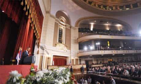 Egypt Obama speech to Muslim world in Cairo