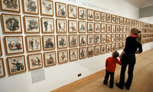 Norman Rockwell show Dulwich Picture Gallery
