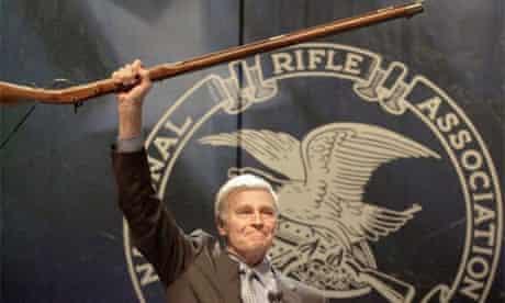 Charlton Heston NRA gun control 2000