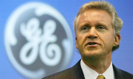 Jeffrey Immelt chairman of GE, in 2003