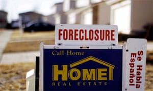 Foreclosure US housing crisis