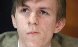 Conservative political activist James O'Keefe
