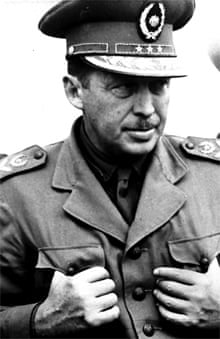 The Paraguayan dictator Alfredo Stroessner