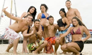 The cast of Jersey Shore