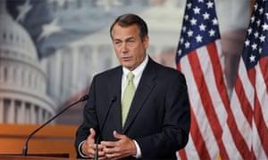 John Boehner government shutdown