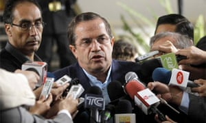 Ecuador's foreign minister Ricardo Patino diplomatic cables WikiLeaks