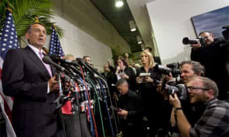 John Boehner shutdown averted 8 April 2011