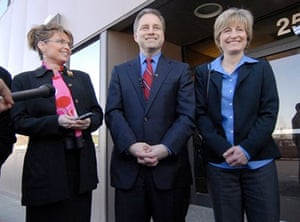 Sarah Palin, governor of Alaska, on 14 March 2008