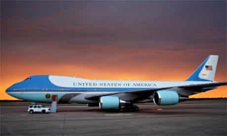 Air Force One, Austin, Texas, Barack Obama