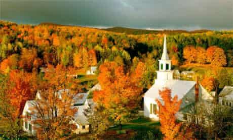 Waits River, Vermont Fall foliage