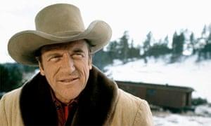 James Arness, western actor, Gunsmoke (1970)