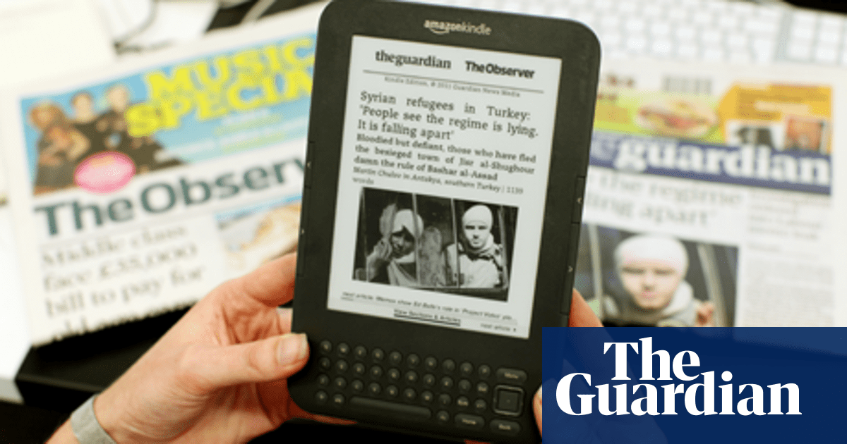 The Guardian and Observer are now available on Kindle | Guardian