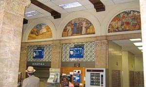 Post office in Modesto, California