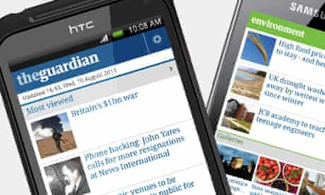 Guardian android app