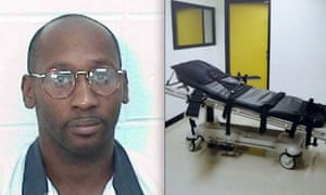 Troy Davis who faces execution in Georgia