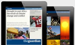Guardian iPad app
