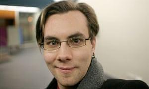 Jacob Appelbaum, WikiLeaks volunteer, in 2005