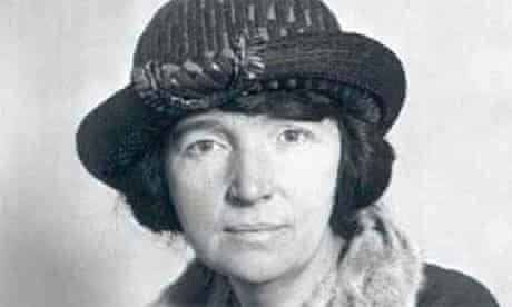 Margaret Sanger, founder of the Planned Parenthood Federation