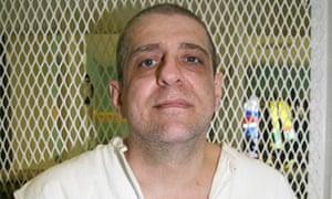 Hank Skinner on death row in Livingston, Texas