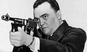 Image result for J.E. Hoover With big gun