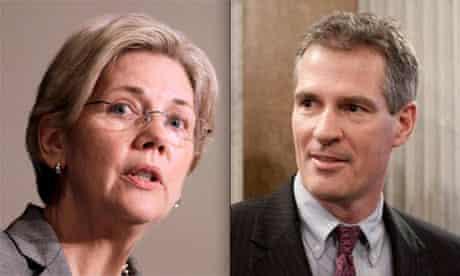 Elizabeth Warren and Scott Brown, Massachusetts