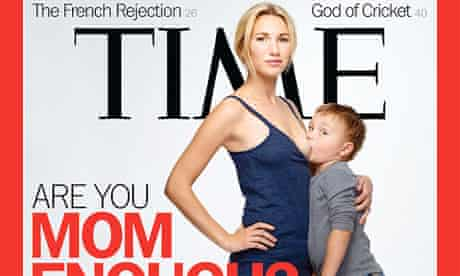 Time magazine's 'Are You Mom Enough?' breastfeeding cover