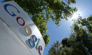 Sign at Google's HQ