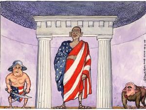 29.08.08: Steve Bell on senator Obama