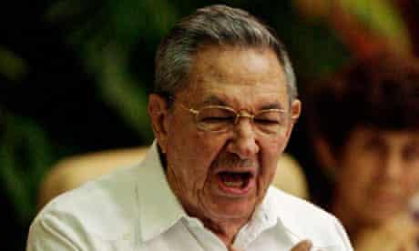 Raúl Castro, Cuba