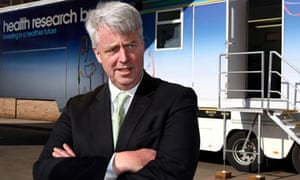 Andrew Lansley defended the NHS reforms