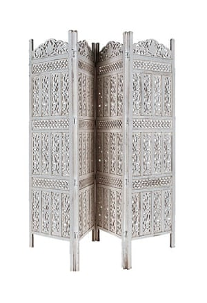 Milly Goodwin: Mango wood carved screen
