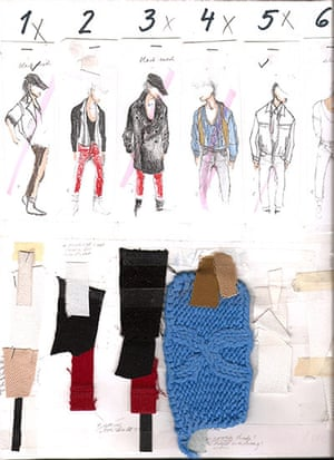 Fashion Designer S Sketchbooks Sketching In Style Fashion The Guardian