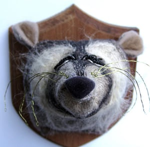 Craftidermy: Racoon, by Amelia Fever