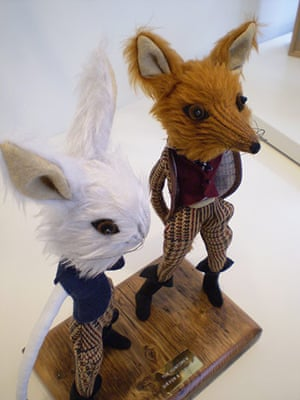 Craftidermy: Mr Fox and Mr Hare, by Emma Cocker